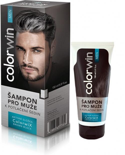 Šampon k potlačení šedin